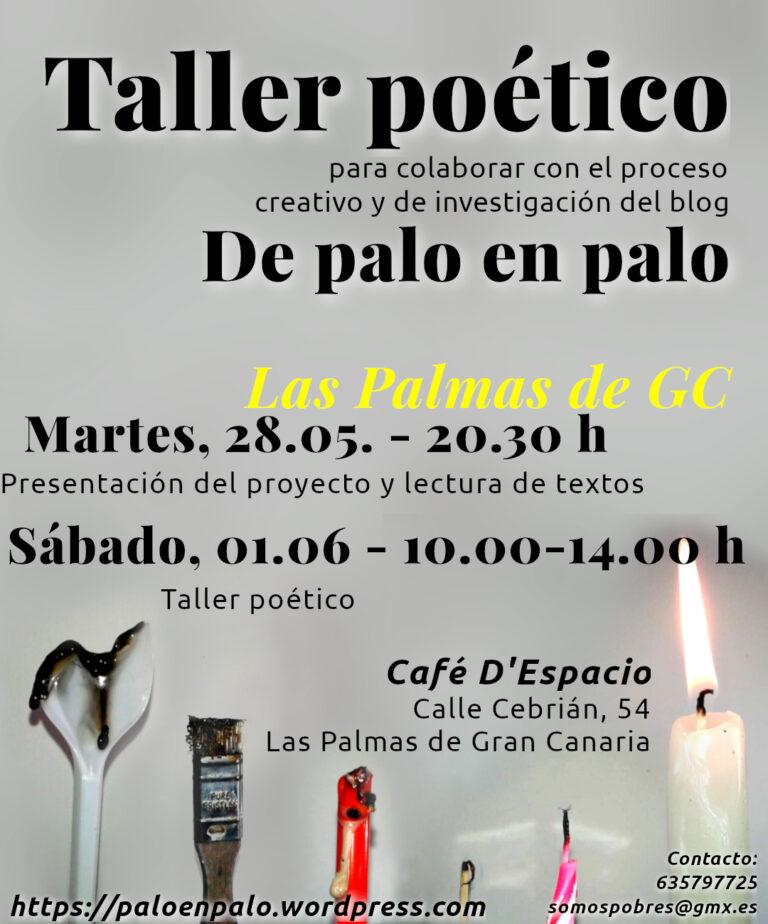 Taller poético en Las Palmas de GC